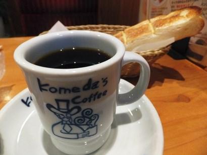 131110コメダ岐阜領下店①、ブレンドコーヒー (コピー).JPG