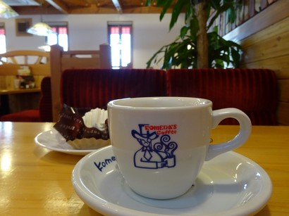 150105コメダ郡上八幡店④、ミルクコーヒー (コピー).JPG