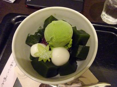 160817イオリカフェ③、抹茶ゼリー (コピー).JPG